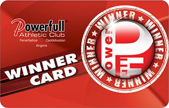 Powerfull Club WinnerCard