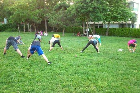 Outdoor Grup Dersleri